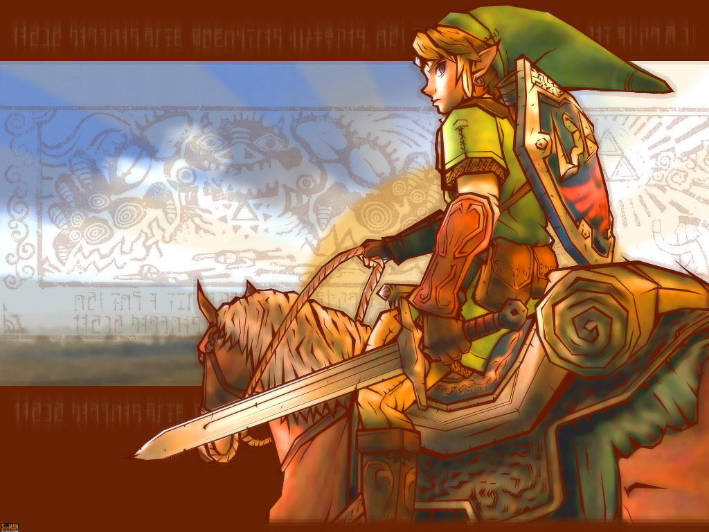 Zelda Link Wallpaper by Billysan291 1024x768