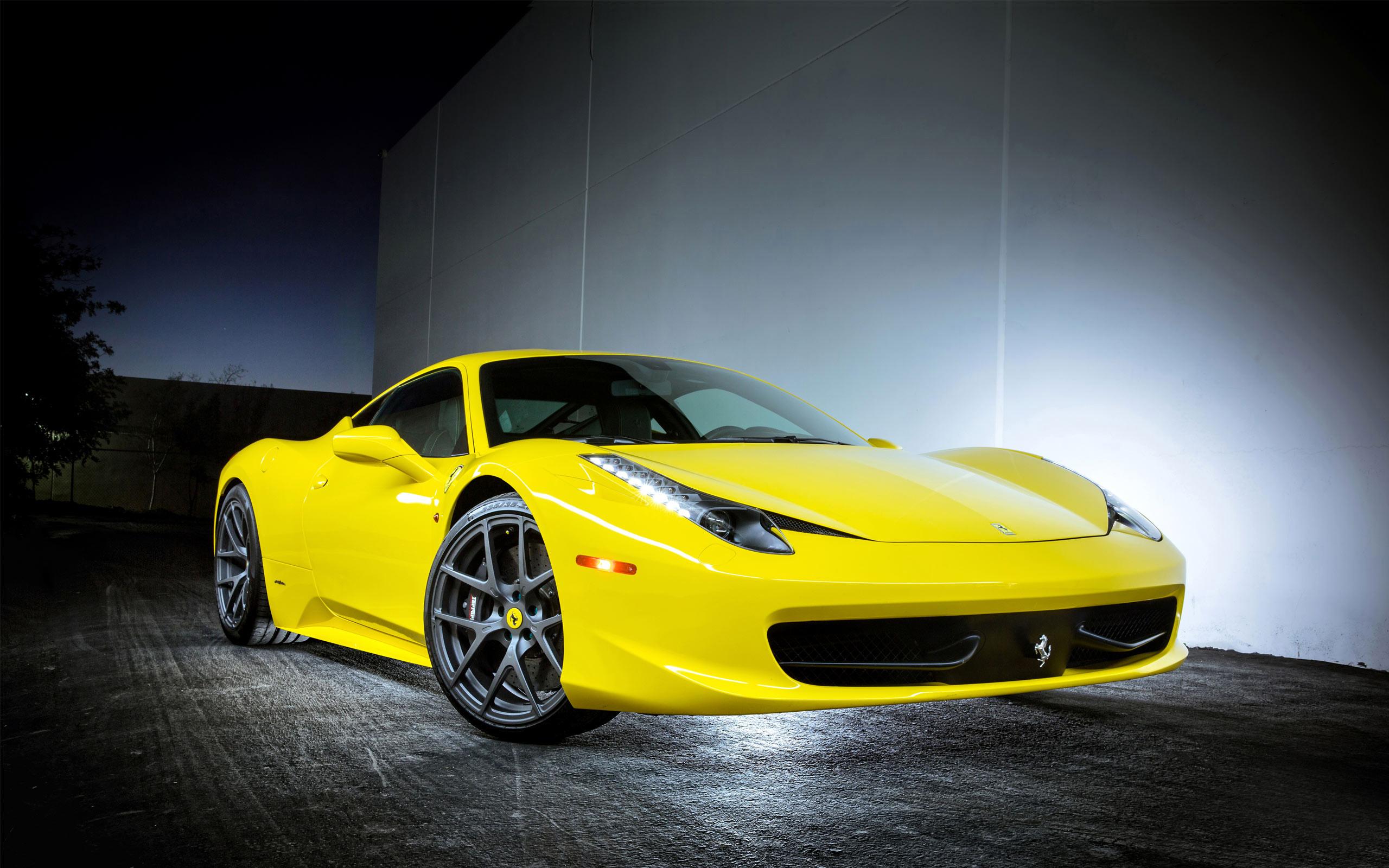 2013 Ferrari 458 Italia Vorsteiner Wallpaper HD Car 2560x1600