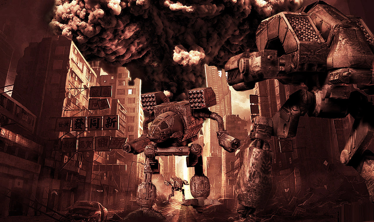 MechWarrior Wallpaper 1280x760 MechWarrior 1280x760