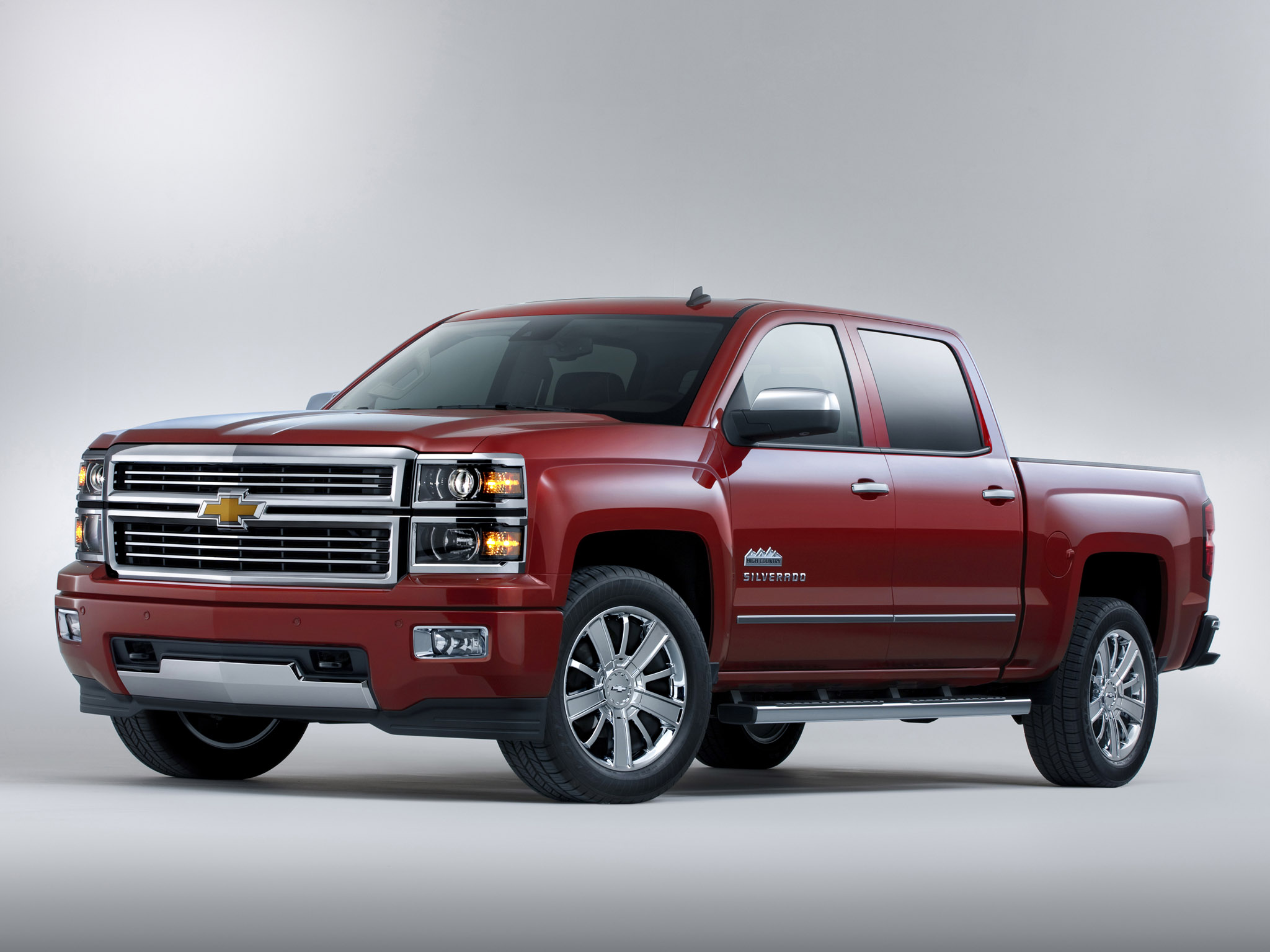 2014 Chevrolet Silverado High Country truck 4x4 d wallpaper background 2048x1536