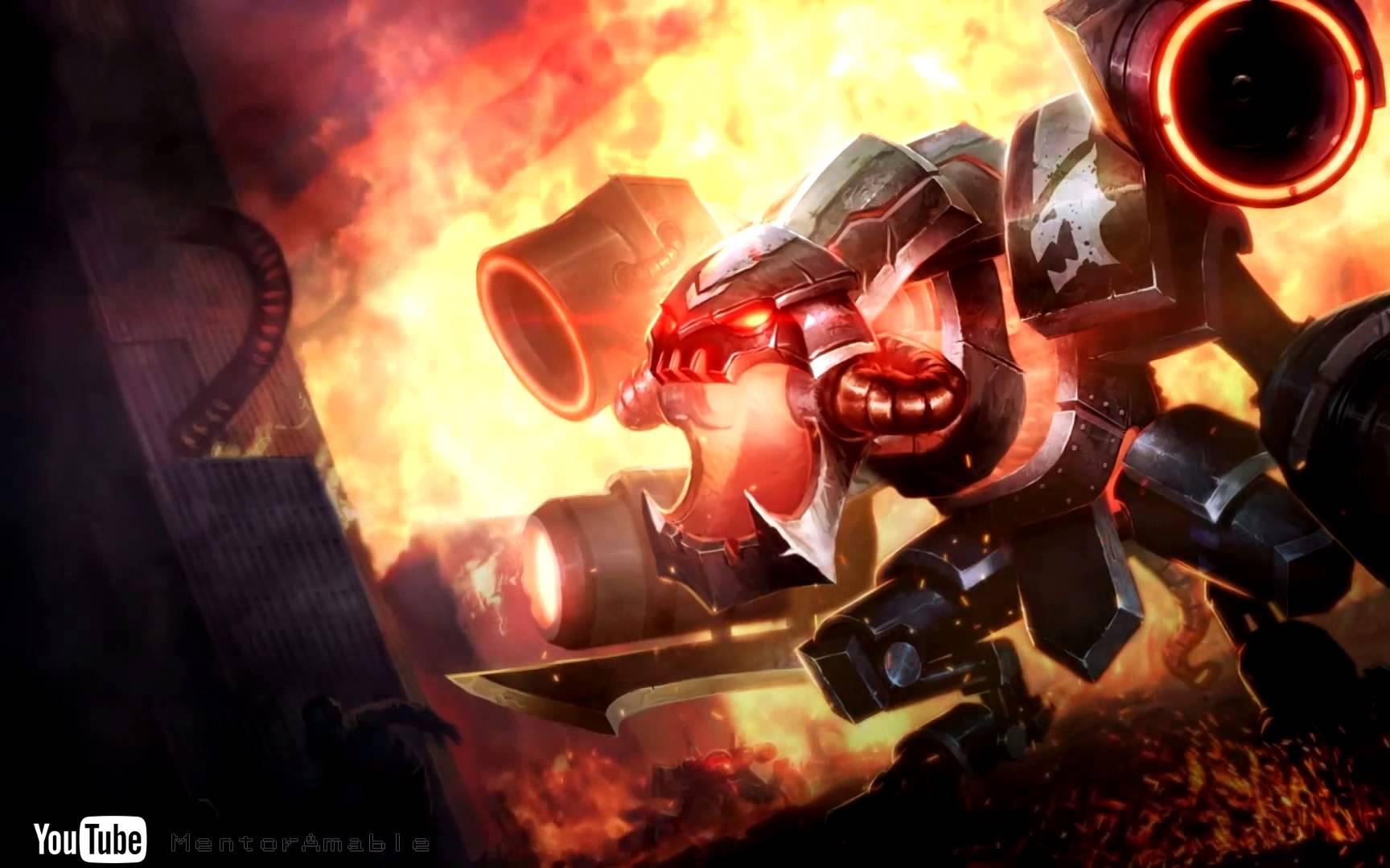 Battlecast Prime ChoGath   Dreamscene HD wallpaper animated 1728x1080
