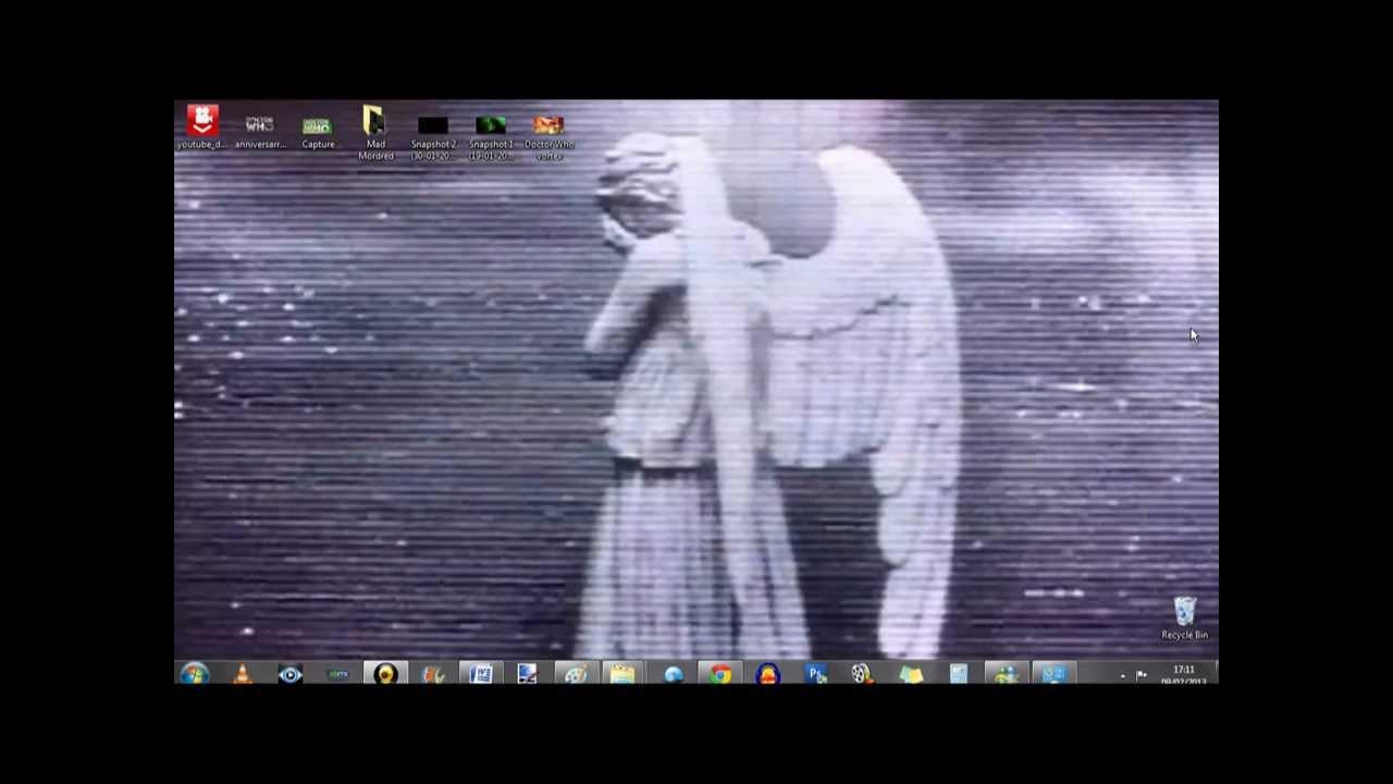 WEEPING ANGEL MOVING DESKTOP BACKGROUND 1280x720