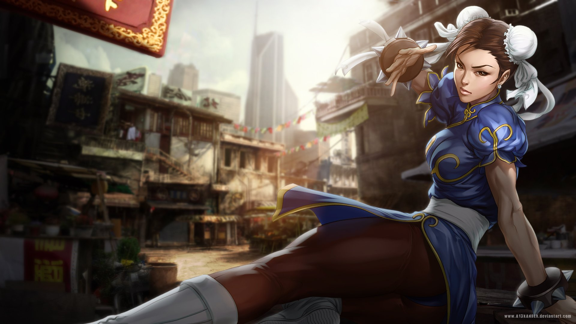 39 Chun Li Wallpaper Hd On Wallpapersafari