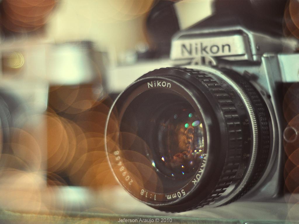 Nikon Old School Wallpaper by ILoveJeph 1024x768
