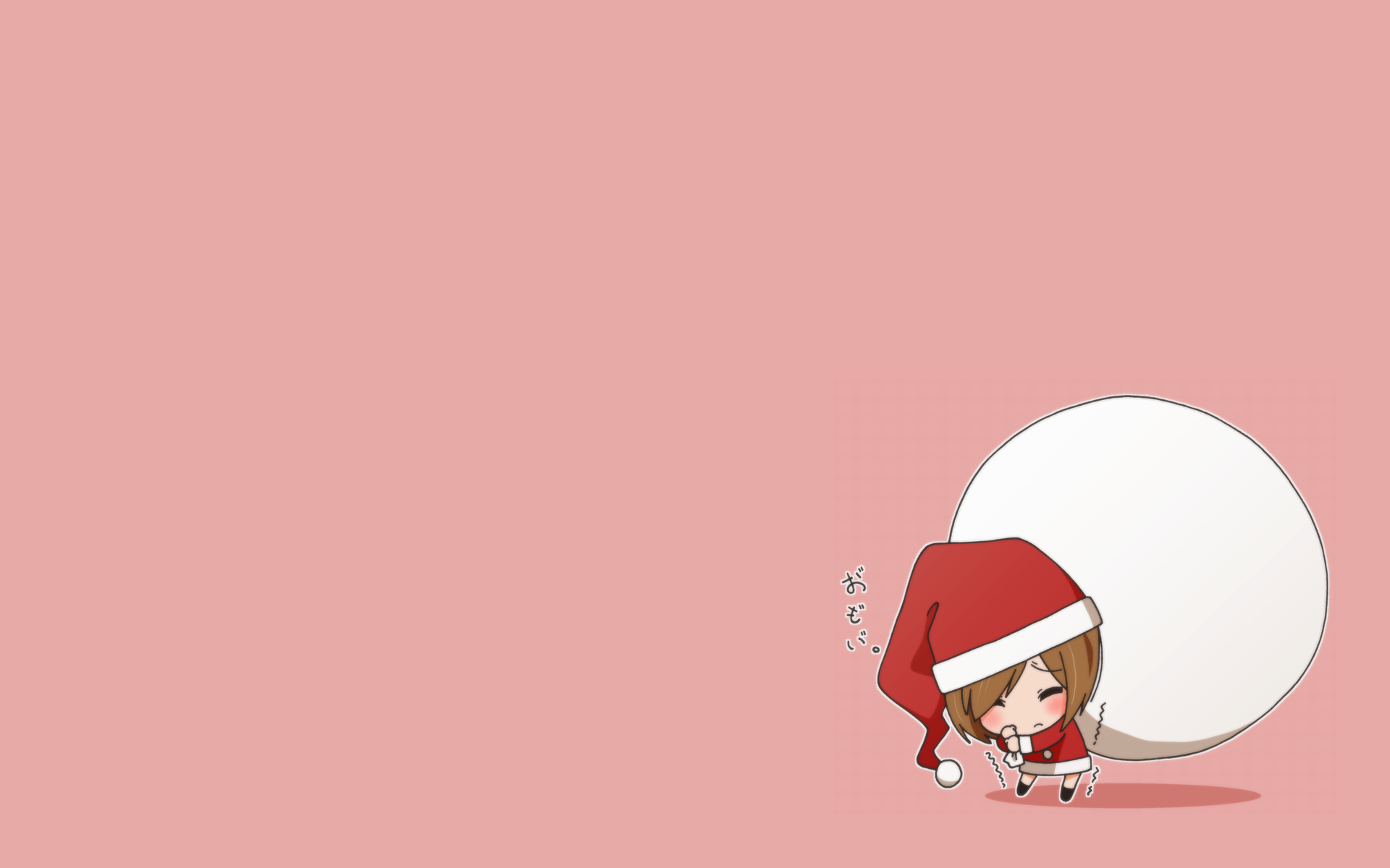 Anime Chibi Christmas wallpaper   296529 1920x1200