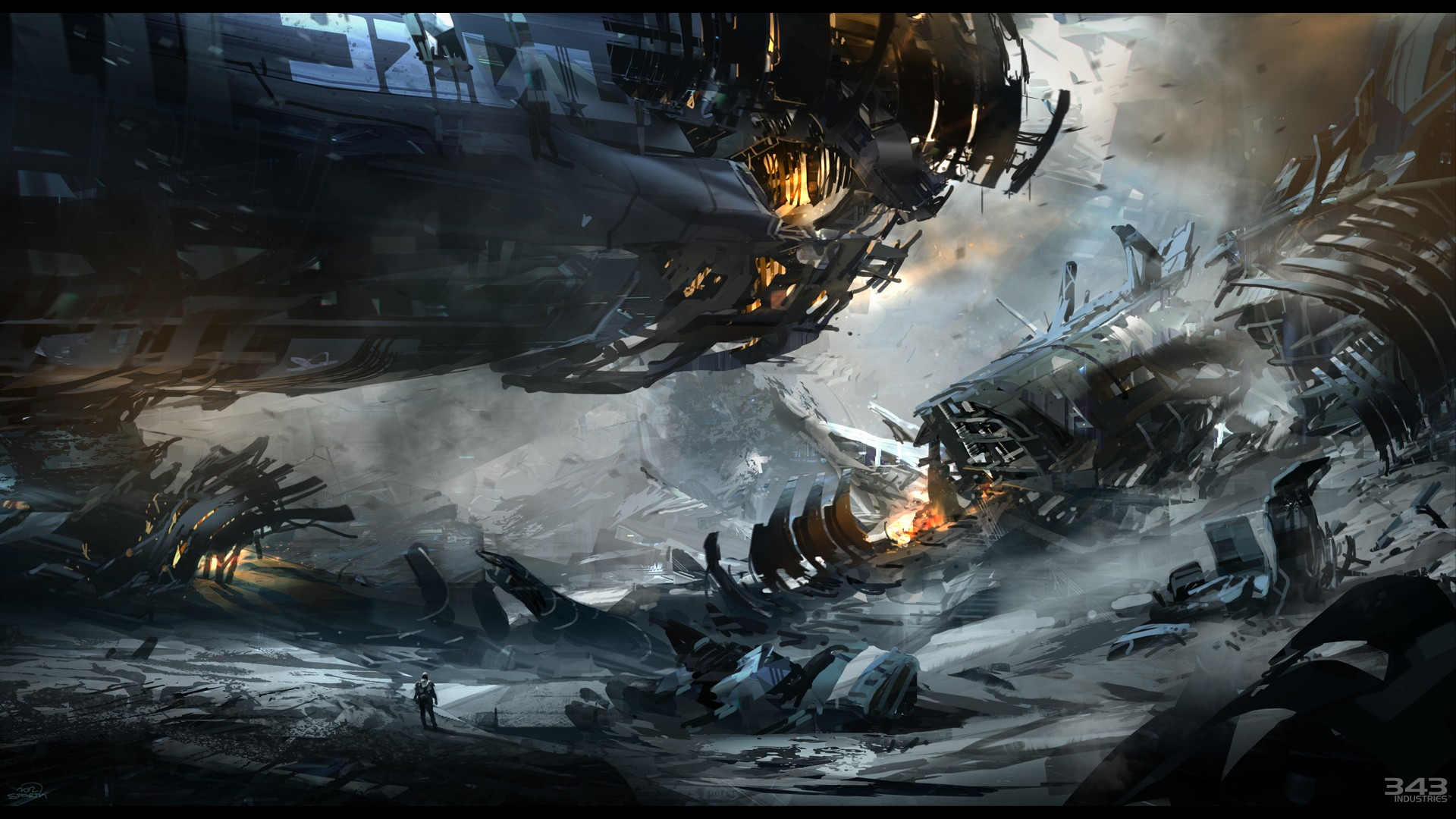 Halo 4 Concept Art wallpaper 246178 1920x1080