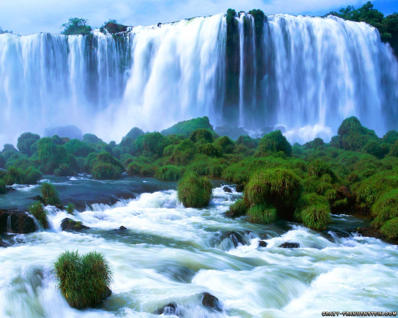 Beautiful Waterfalls Wallpapers 521 Entertainment World 1280x1024