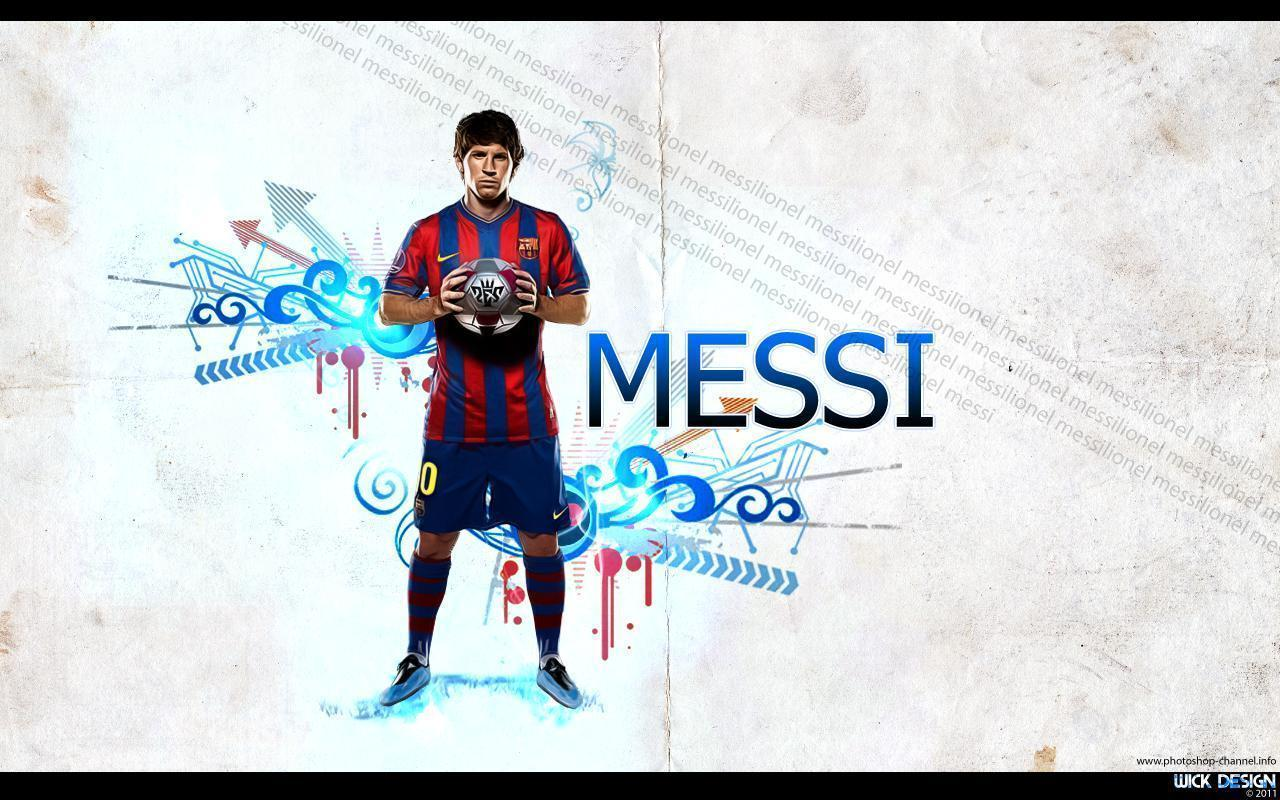 Wallpapers Lionel Messi 2017 1280x800