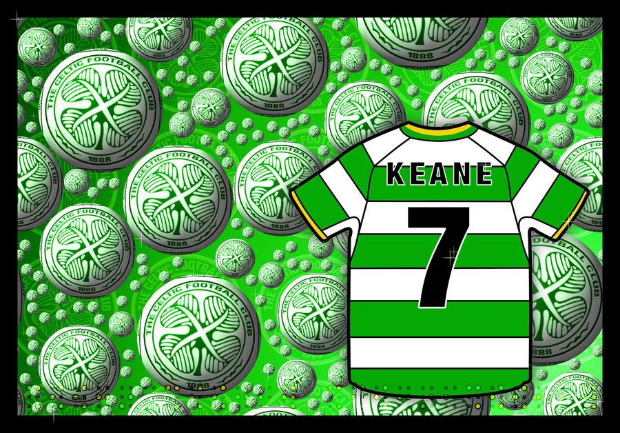 Keane Celtic FC Wall by Sookie by sookiesooker 900x628