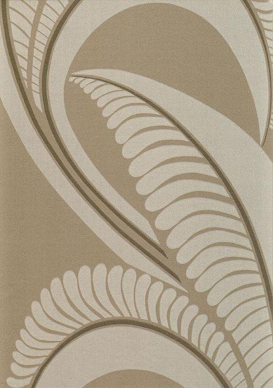 Banana Leaf Wallpaper Contemporary wallpaper with banana leaf design 534x759
