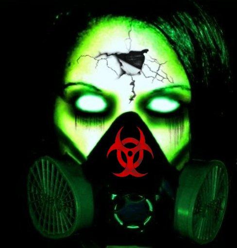 Toxic Symbol Wallpaper Toxic zombie by bloodfiend69 488x510