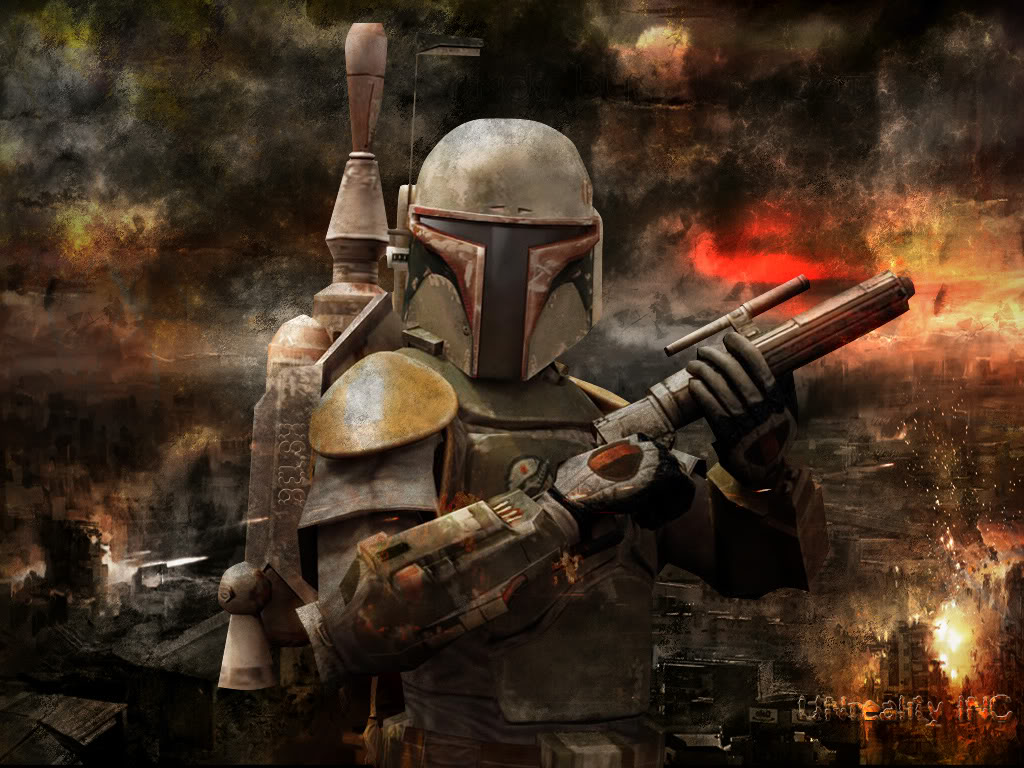 Star Wars Wallpaper 1024x768 Star Wars Boba Fett 1024x768