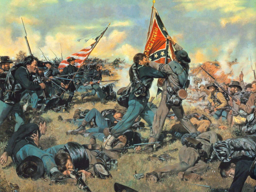 American Civil War Wallpapers 1024x768