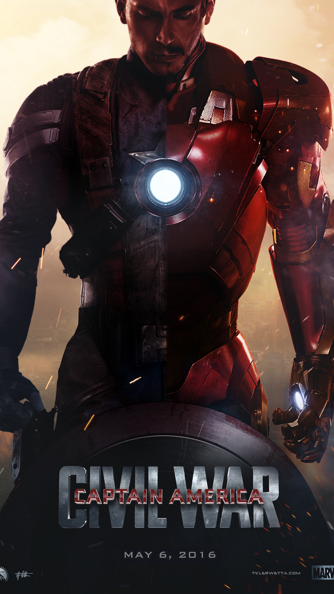 The below are 12 best Captain America Civil War HD Wallpapers for 1080x1920