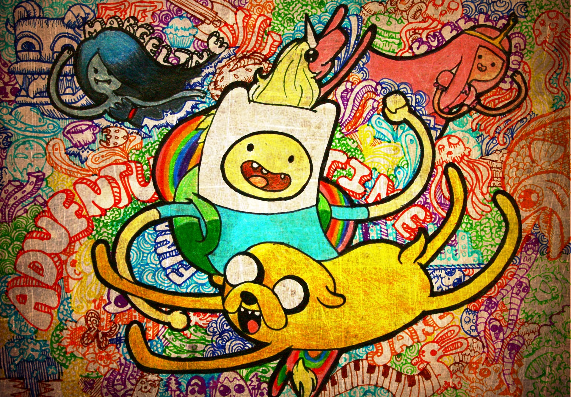 Image   Finn and Jake drawing wallpaperjpg   The Adventure Time Wiki 1920x1335