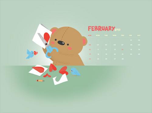 Hallmark Calendar Wallpaper 500x372