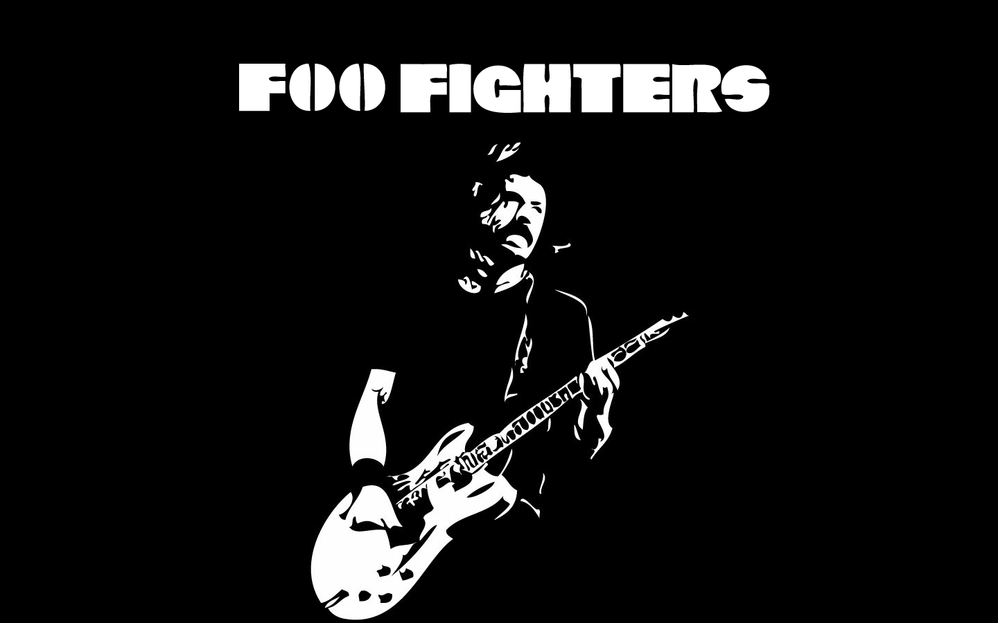 foo fighters wallpaper rock band 1440x900