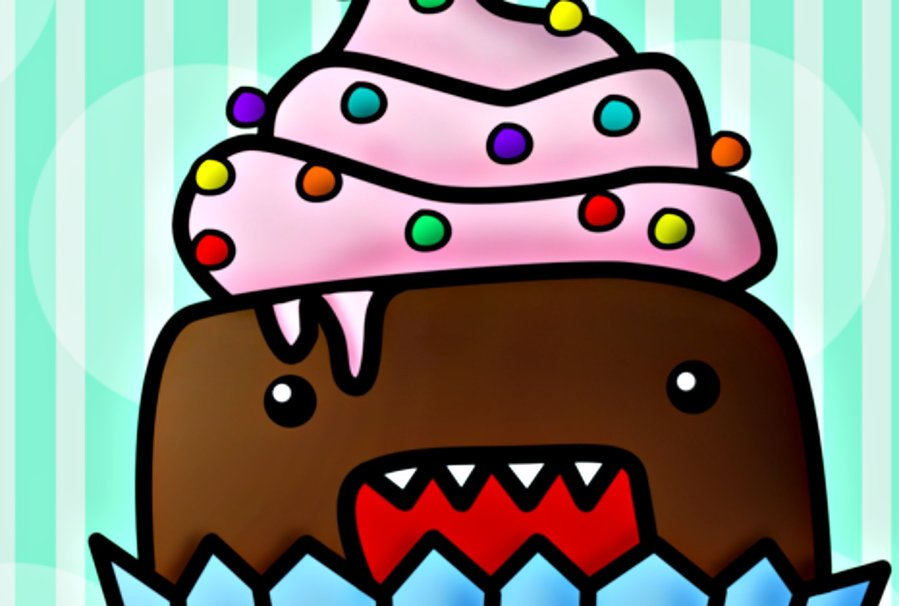 Domo Cupcake wallpaper   ForWallpapercom 899x606