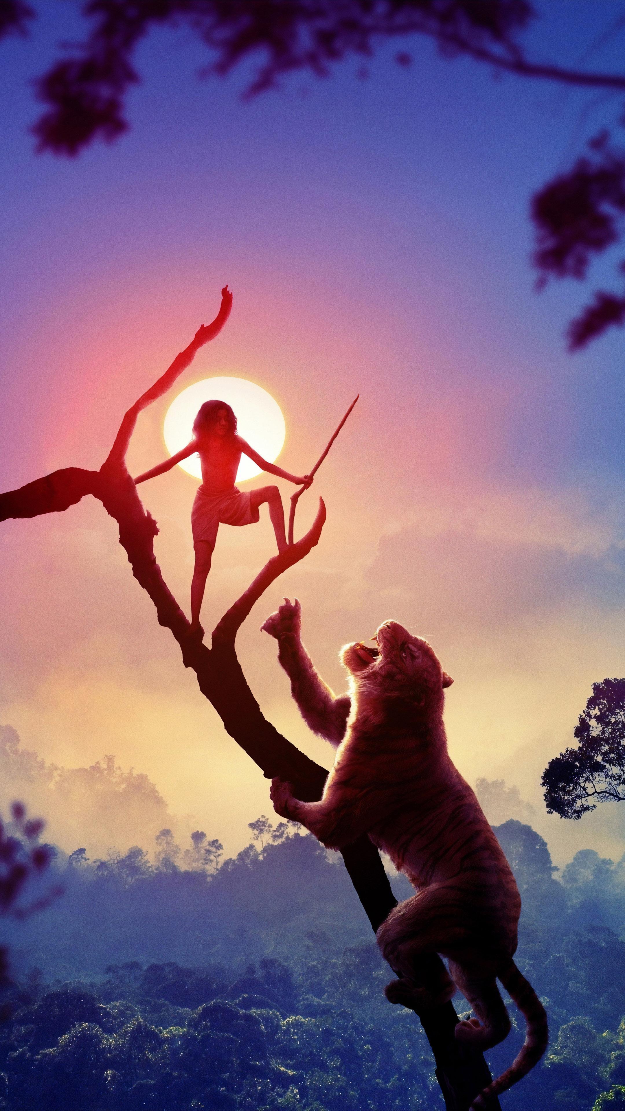 Download Mowgli Legend of The Jungle Pure 4K Ultra HD Mobile 2160x3840