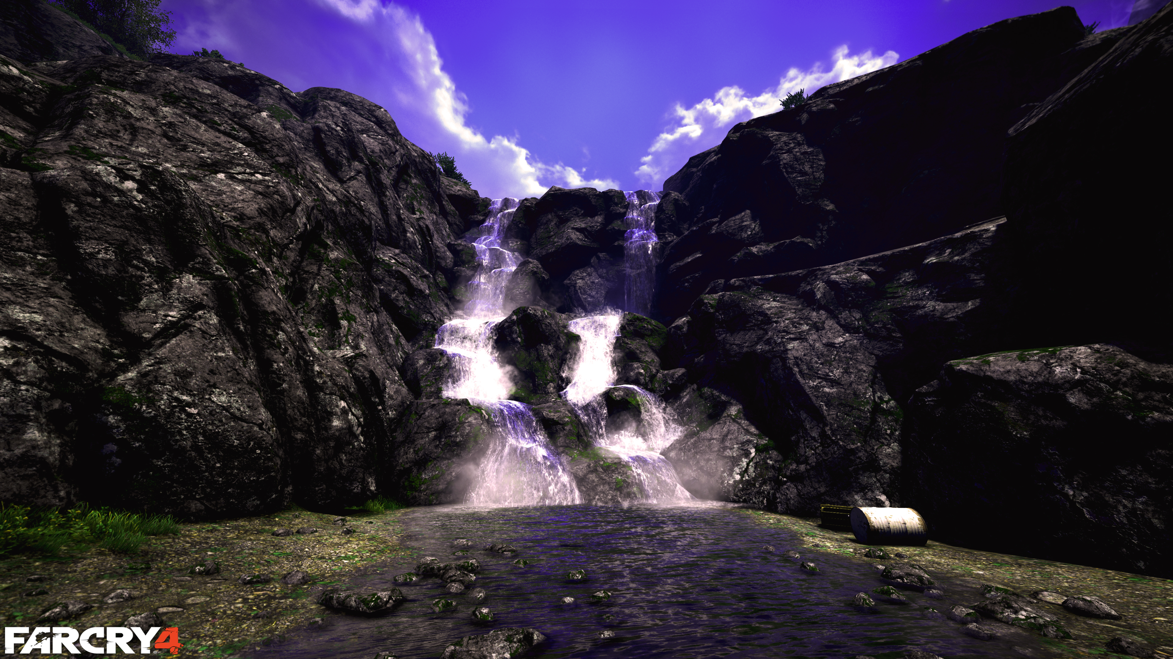 Free Download Far Cry 4 Waterfall 4k Computer Wallpapers Desktop