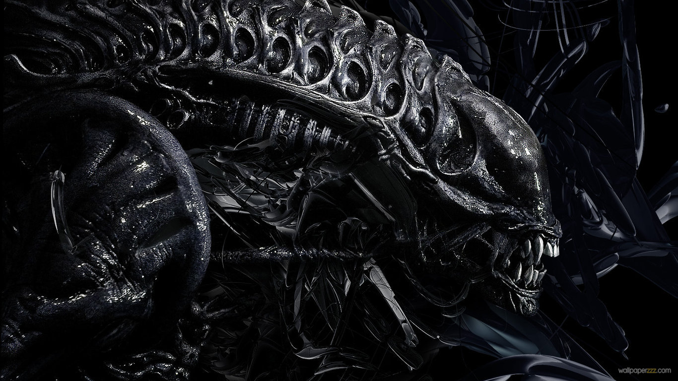 Download Alien HD Wallpaper Wallpaper 1366x768