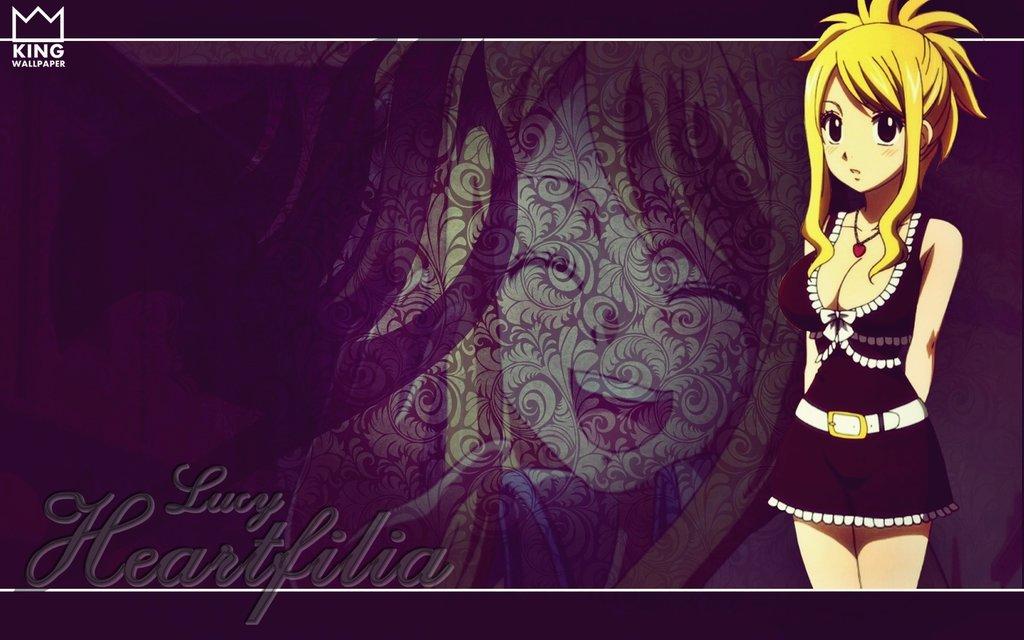 Lucy Heatfilia Wallpaper   Fairy Tail by Kingwallpaper 1024x640