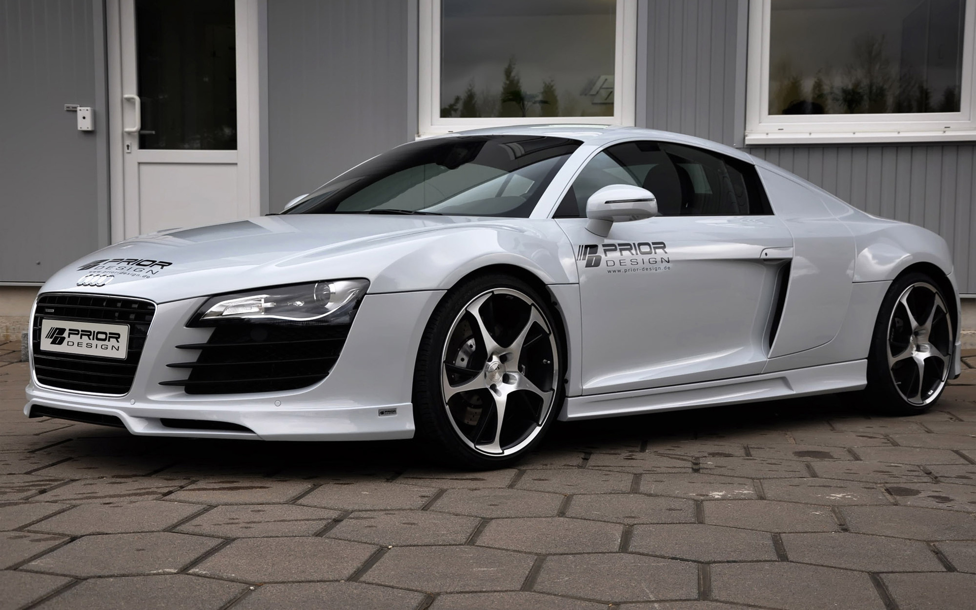 Wallpaper audi r8 carbon limited edition prior design engine tuning 1920x1200
