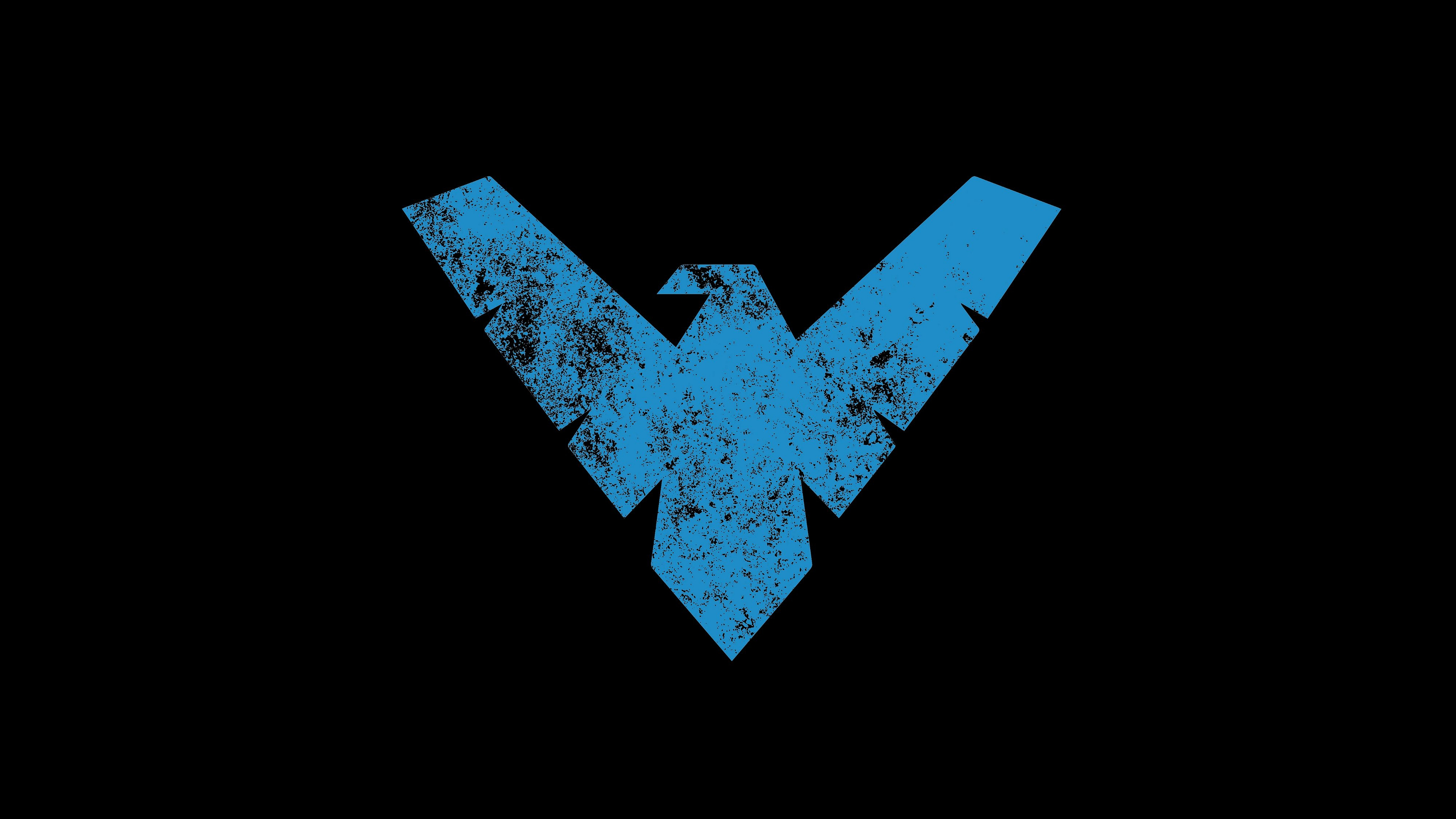 Nightwing Logo Wallpaper - WallpaperSafari