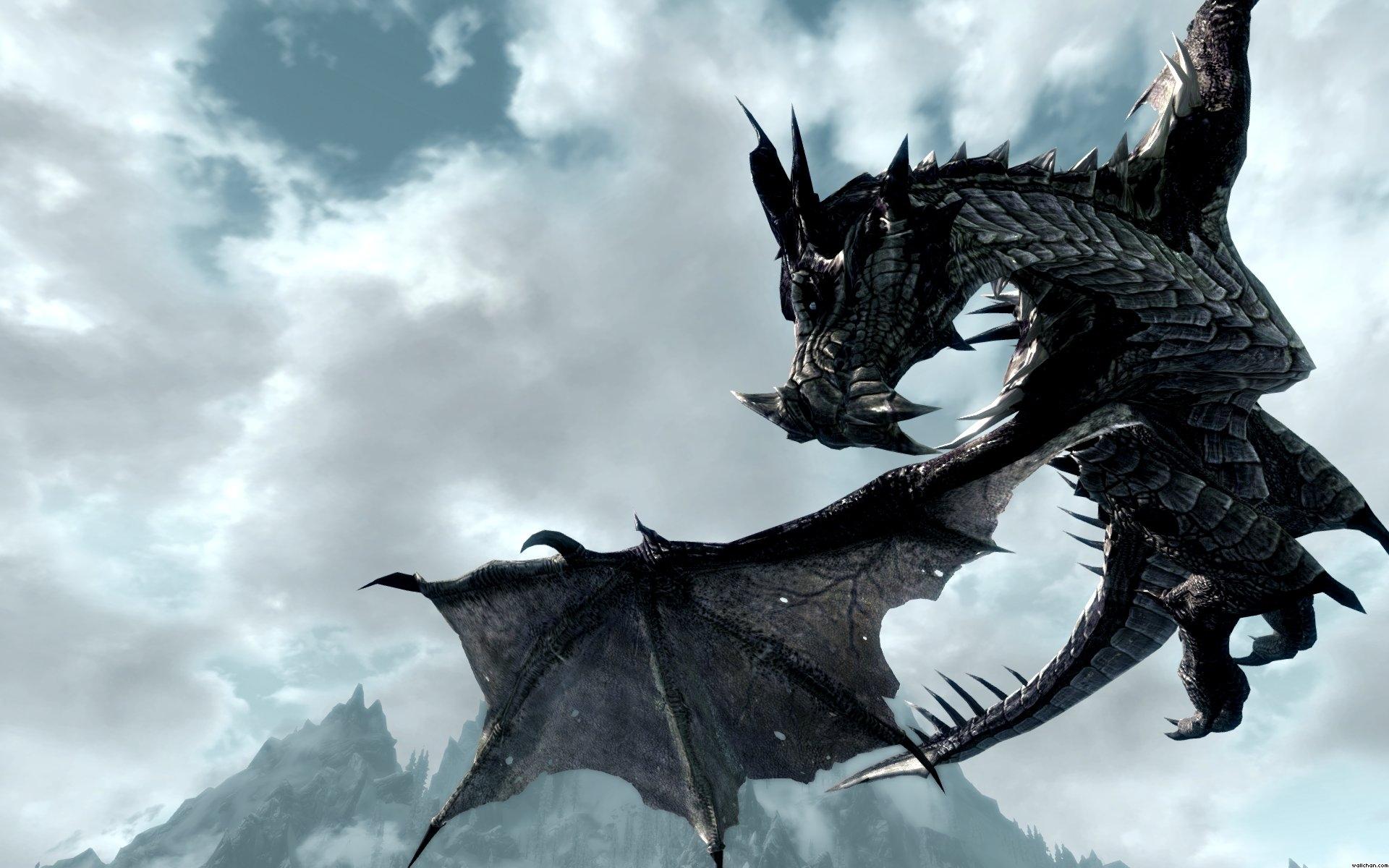 wallpaper dragon flying 1920x1200 1920x1200