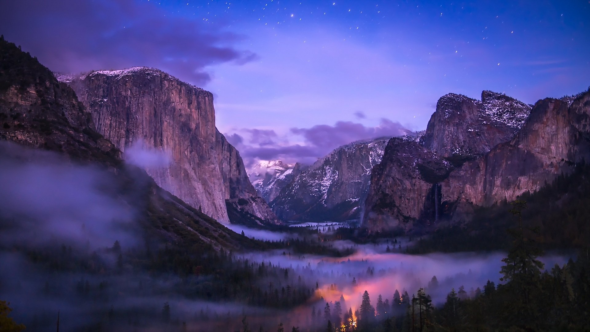 Yosemite National Park wallpaper by MariJane RevelWallpapersnet 1920x1080