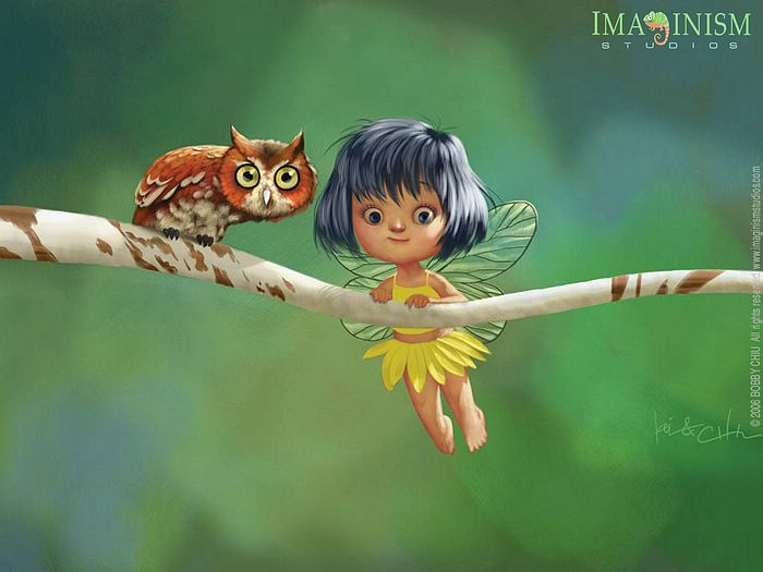 Cute Fairy Wallpaper 3D 9 Wallpaper Wallpaper 700x525