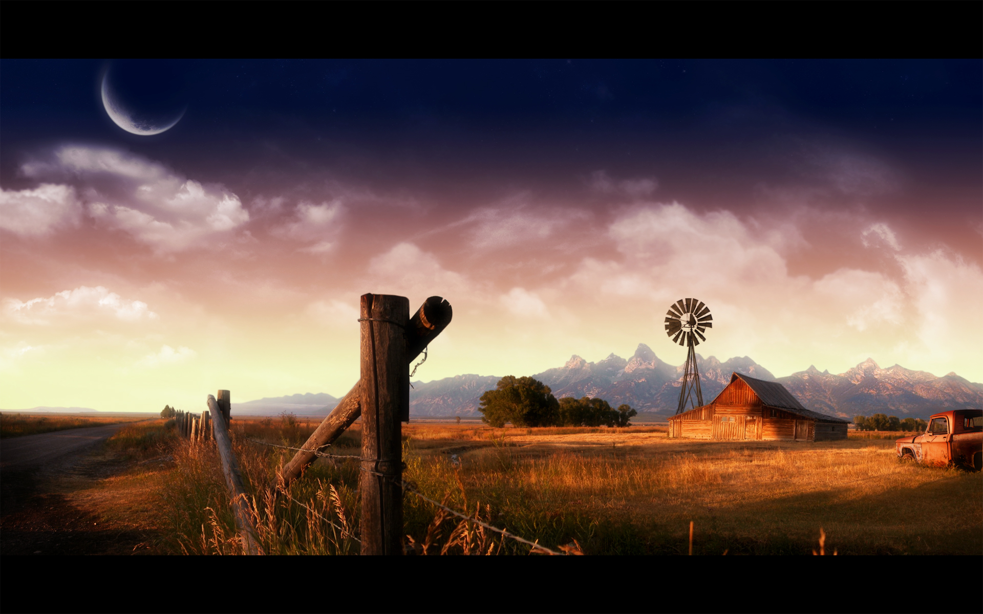 farmland by nuahs customization wallpaper landscapes scenery 2008 2015 1920x1200