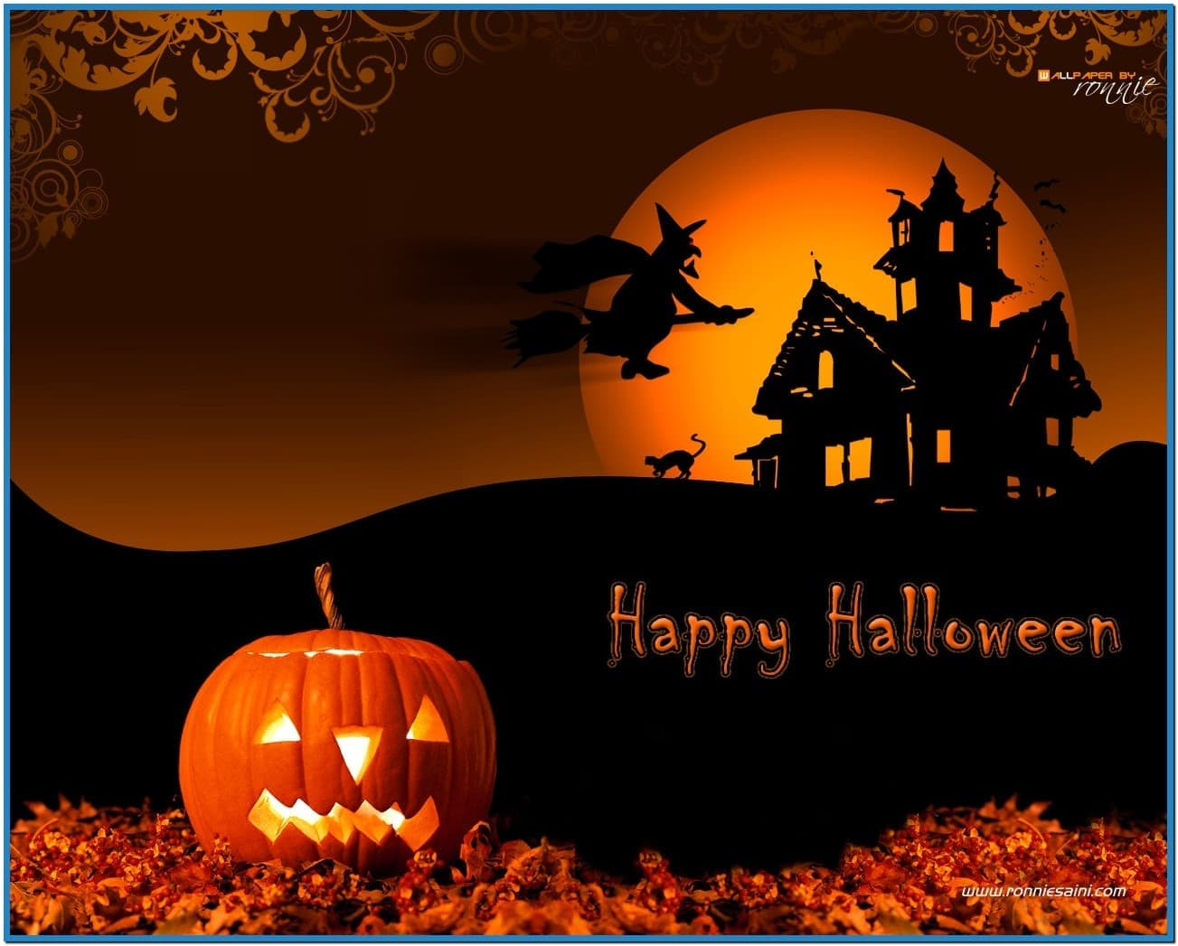 Halloween wallpaper screensavers   Download 1303x1047