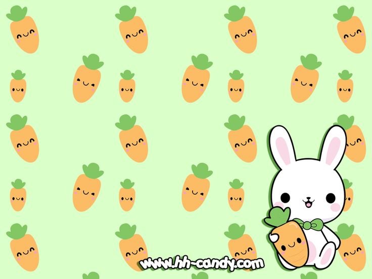 Free Download Bunny Bunny Wallpaper By A Little Kittydeviantartcom