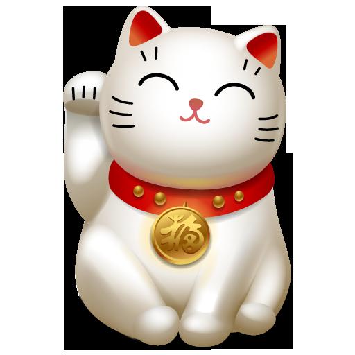 Japanese Maneki Neko Lucky Cat   Hot Girls Wallpaper 512x512
