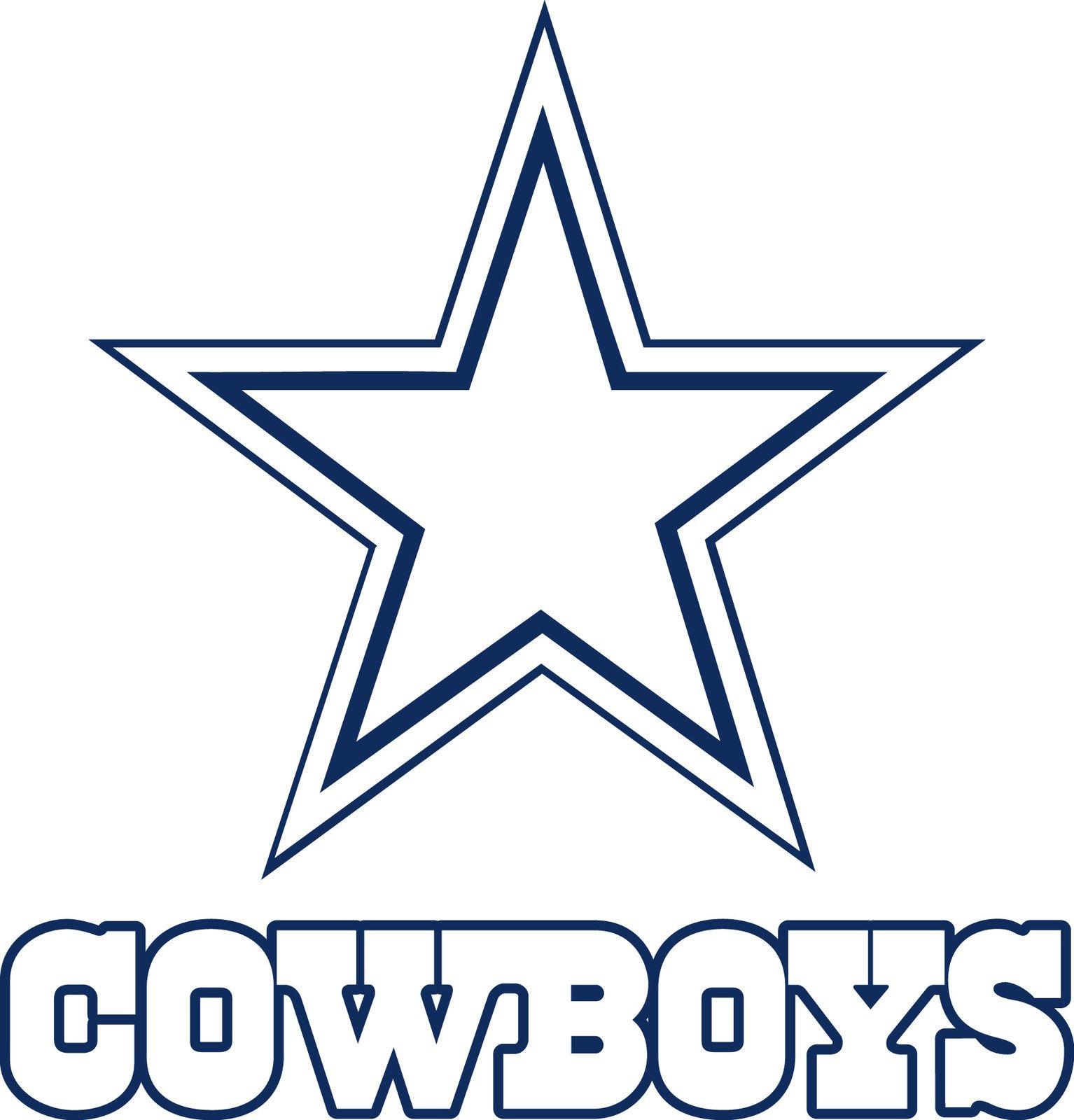 dallas cowboys logo star 1534x1600