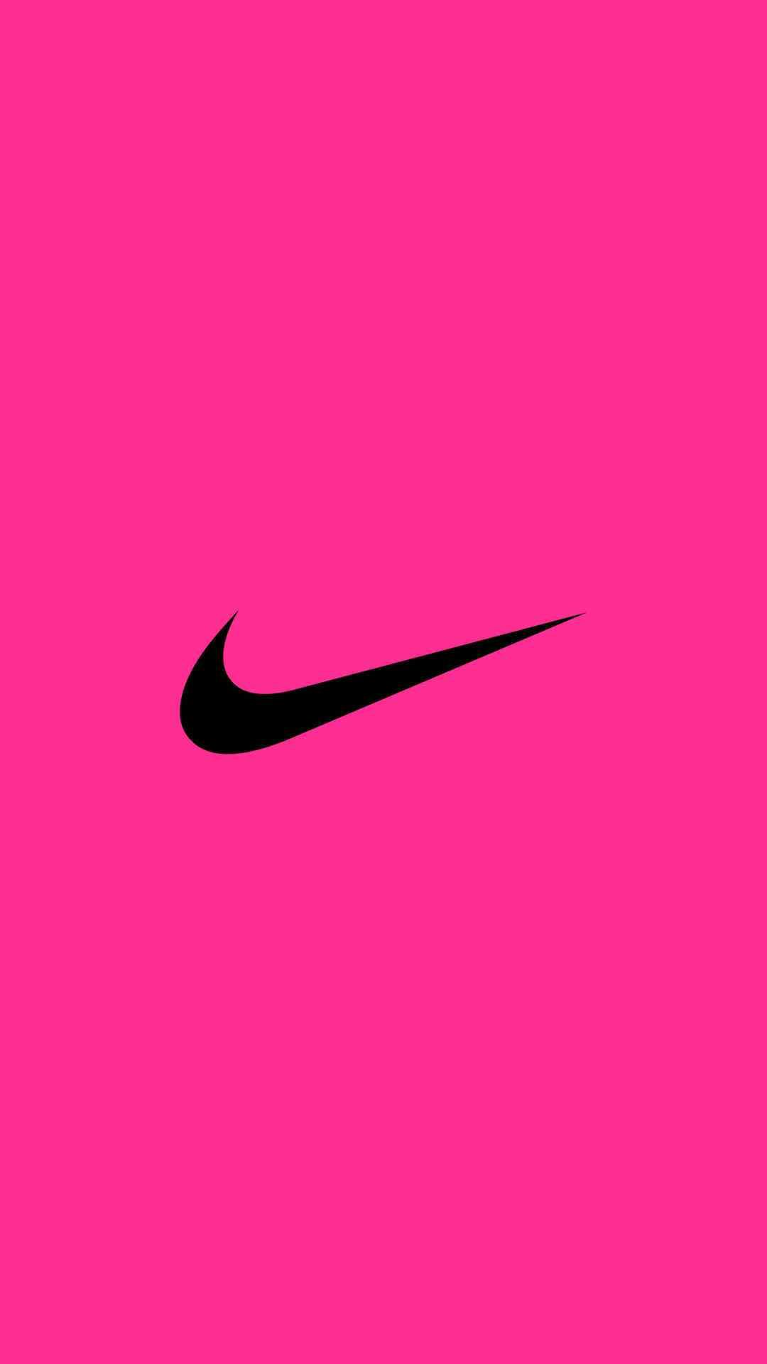 Free Download Nike Logo Iphone Wallpaper Pink Wallpaper Pinterest