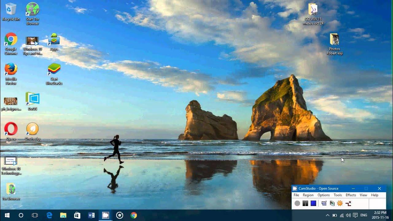 Windows 10 tips and tricks How to set a desktop wallpaper 1280x720