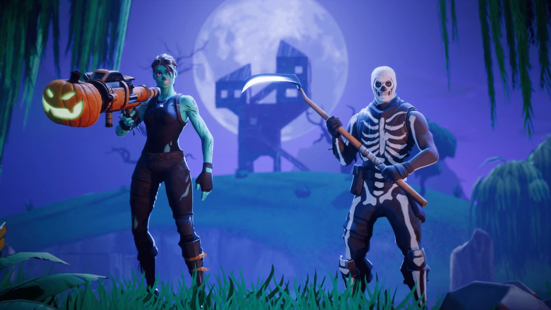Upcoming Halloween Fortnite skins cosmetics found Possible 1920x1080