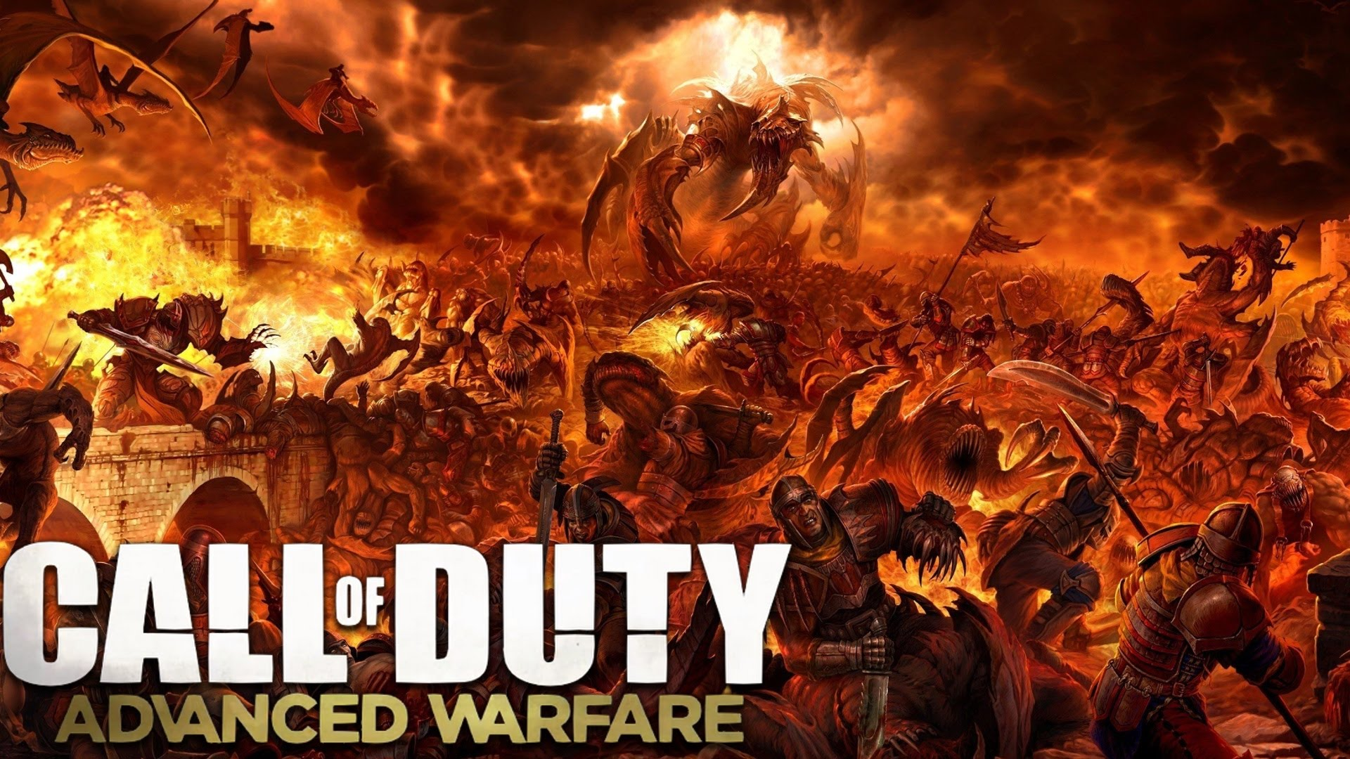 download Warfare HELLSPAWN MODE ZOMBIE DEMONS Real or Fake 1920x1080