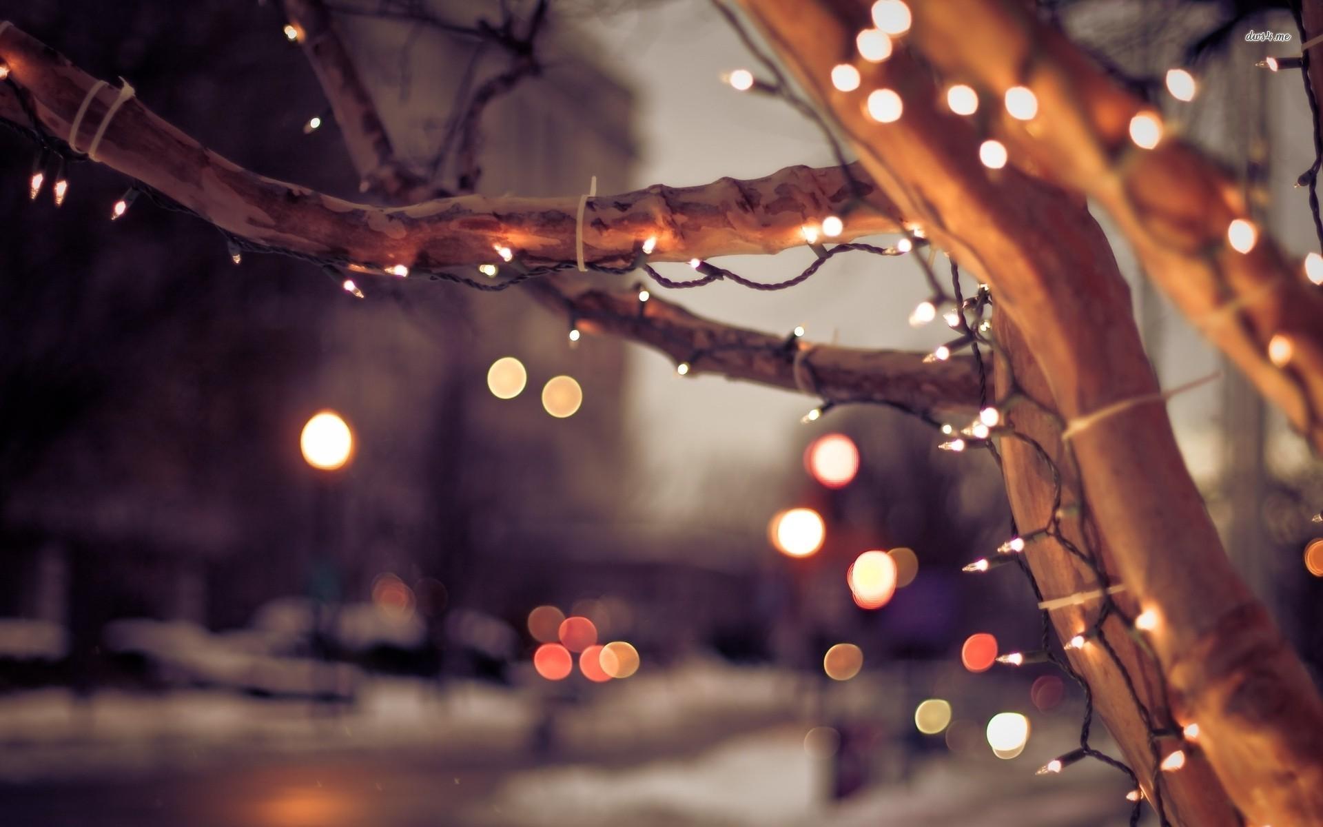 christmas lights on the street holiday wallpaperjpg 1920x1200