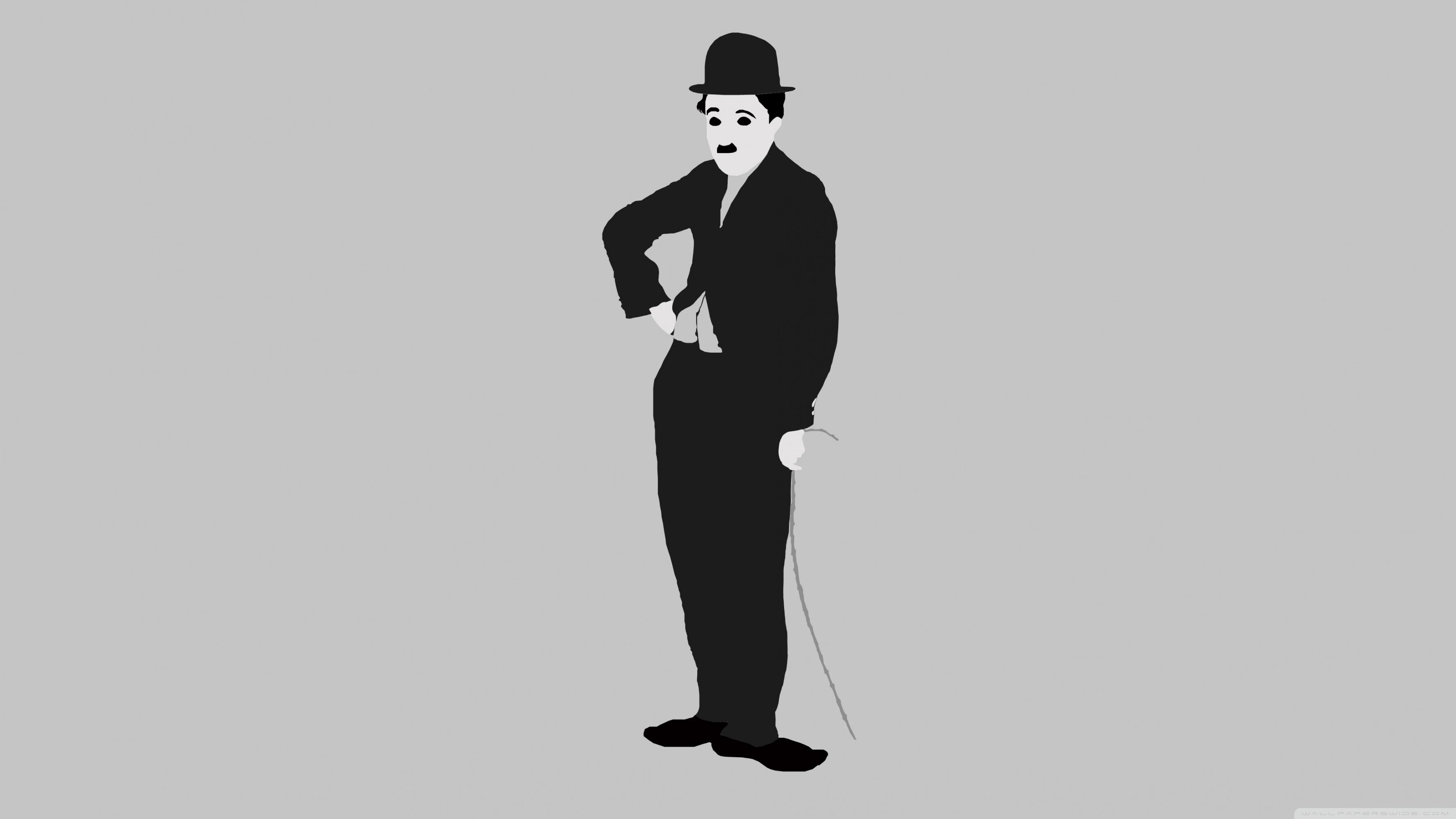 Charlie Chaplin 4K HD Desktop Wallpaper for 4K Ultra HD TV 3554x1999