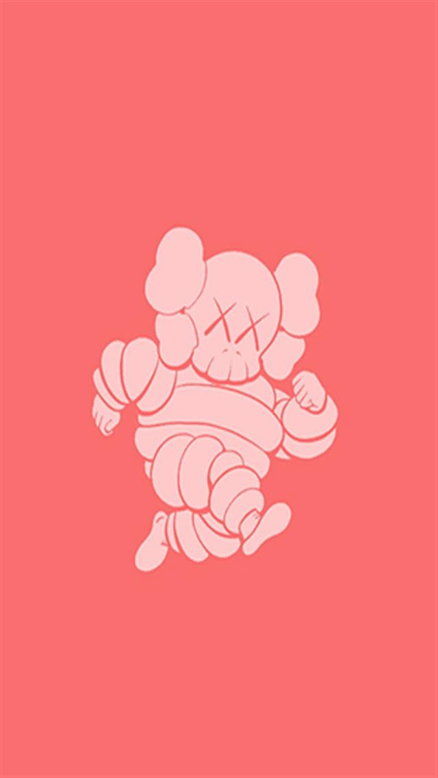 Kaws Filmgrain 5 Iphone Wallpapers Iphone 5 S 4 S 3g Wallpapers 640x1136