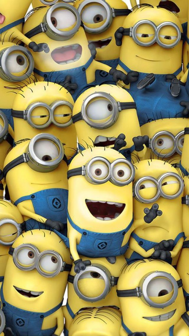 Minions iphone ipad wallpapers iPad Stuff 640x1136