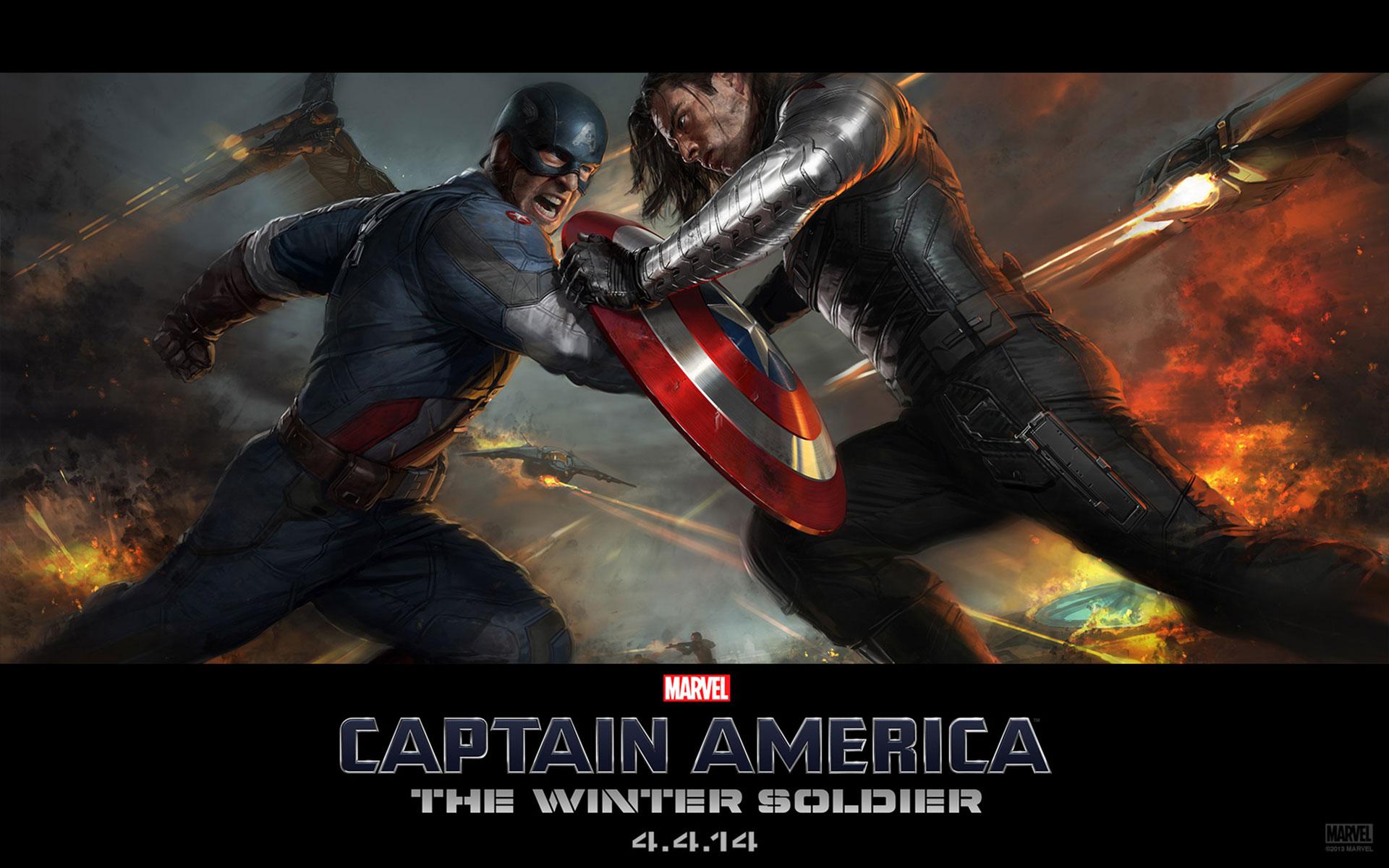 Captain America The Winter Soldier Villain Desktop Backgrounds 1920x1200