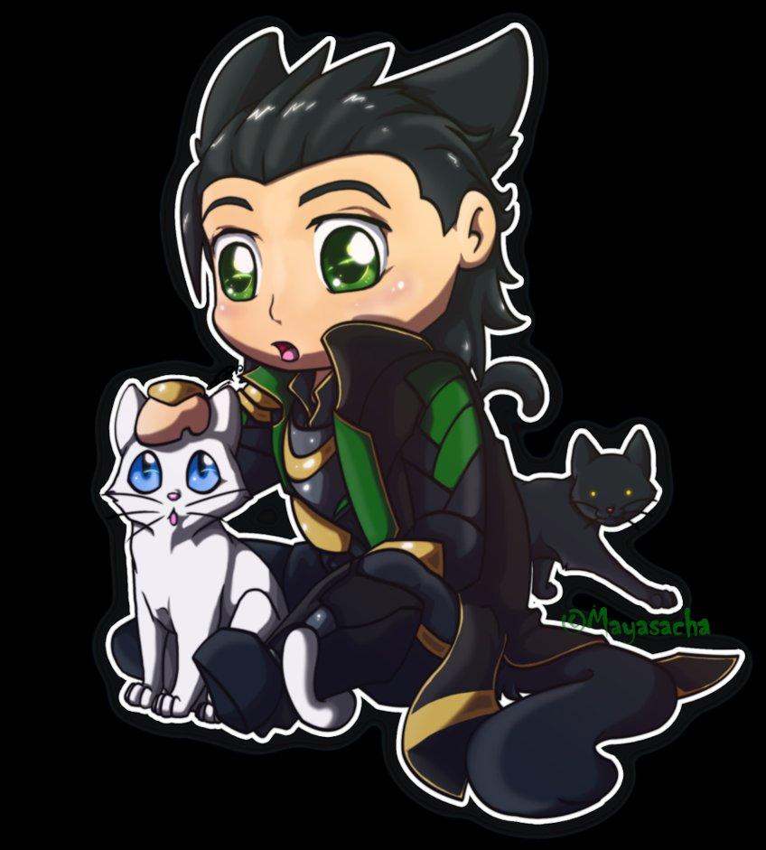 Chibi Loki by Mayasacha 848x941