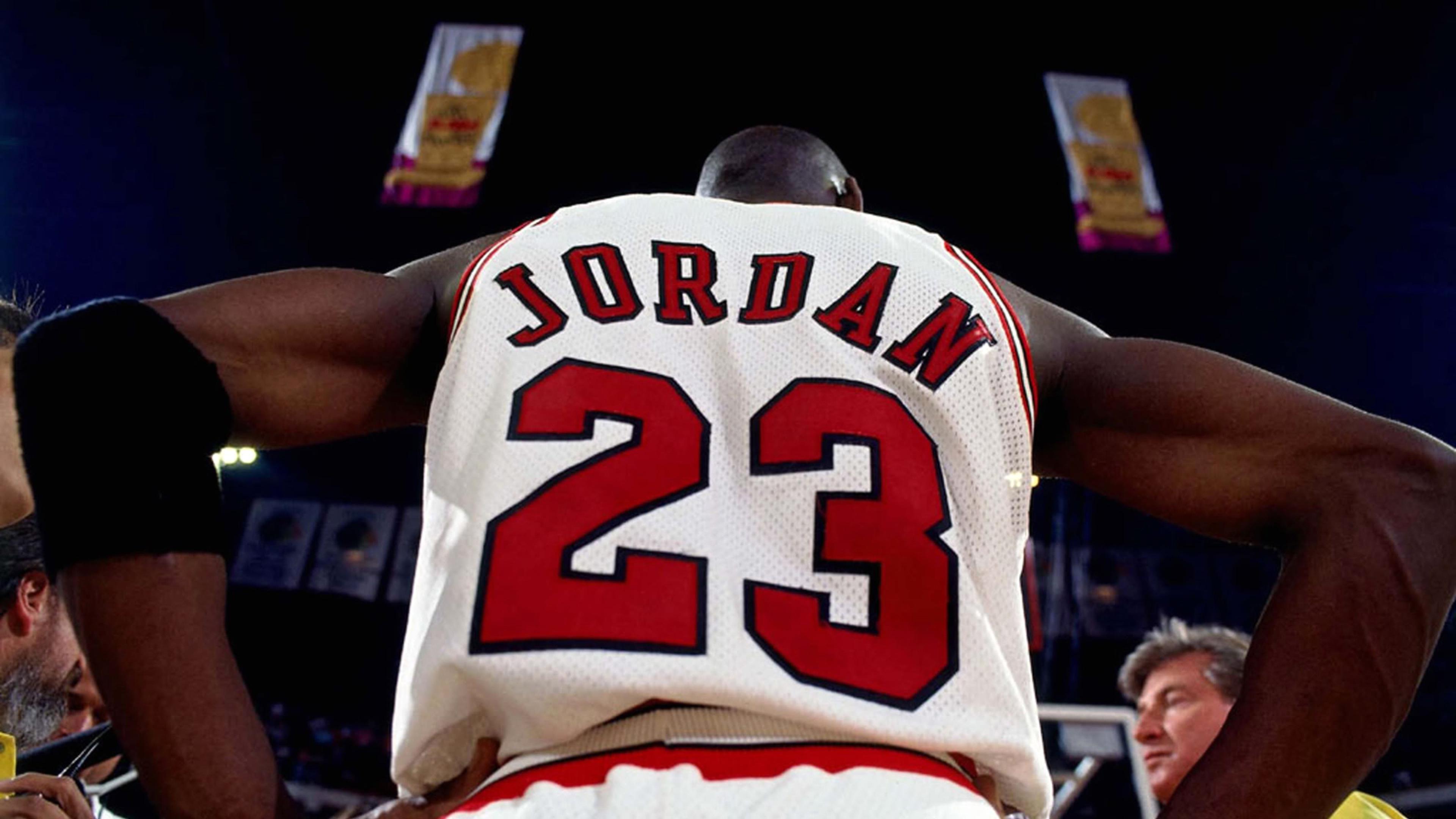 3840x2160 Michael jordan Nba Basketball Jersey Logo Wallpaper 3840x2160