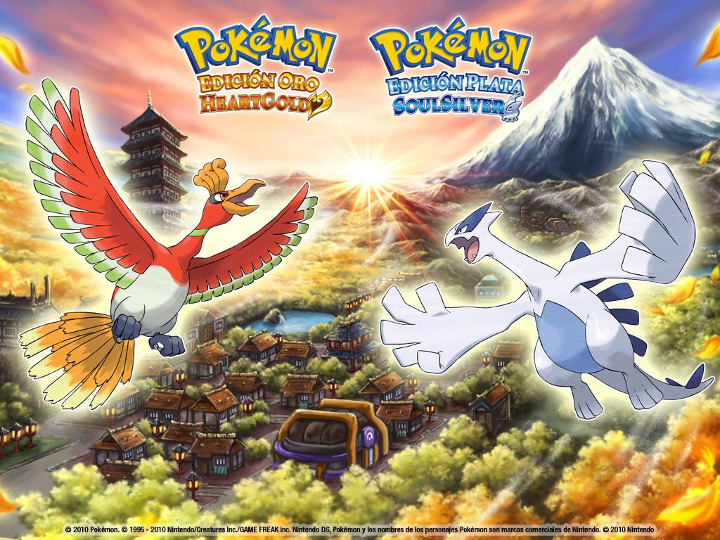 heartgoldsoulsilver   Legendary Pokemon Wallpaper 28003996 1024x768