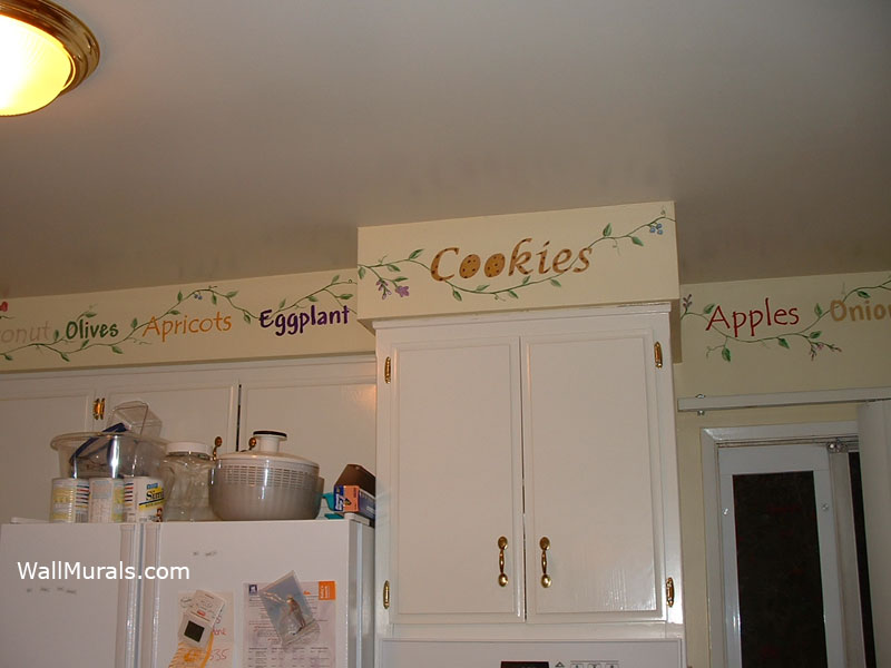 KITCHEN WALL MURALS BY COLETTE KITCHEN MURALS BORDERS 800x600