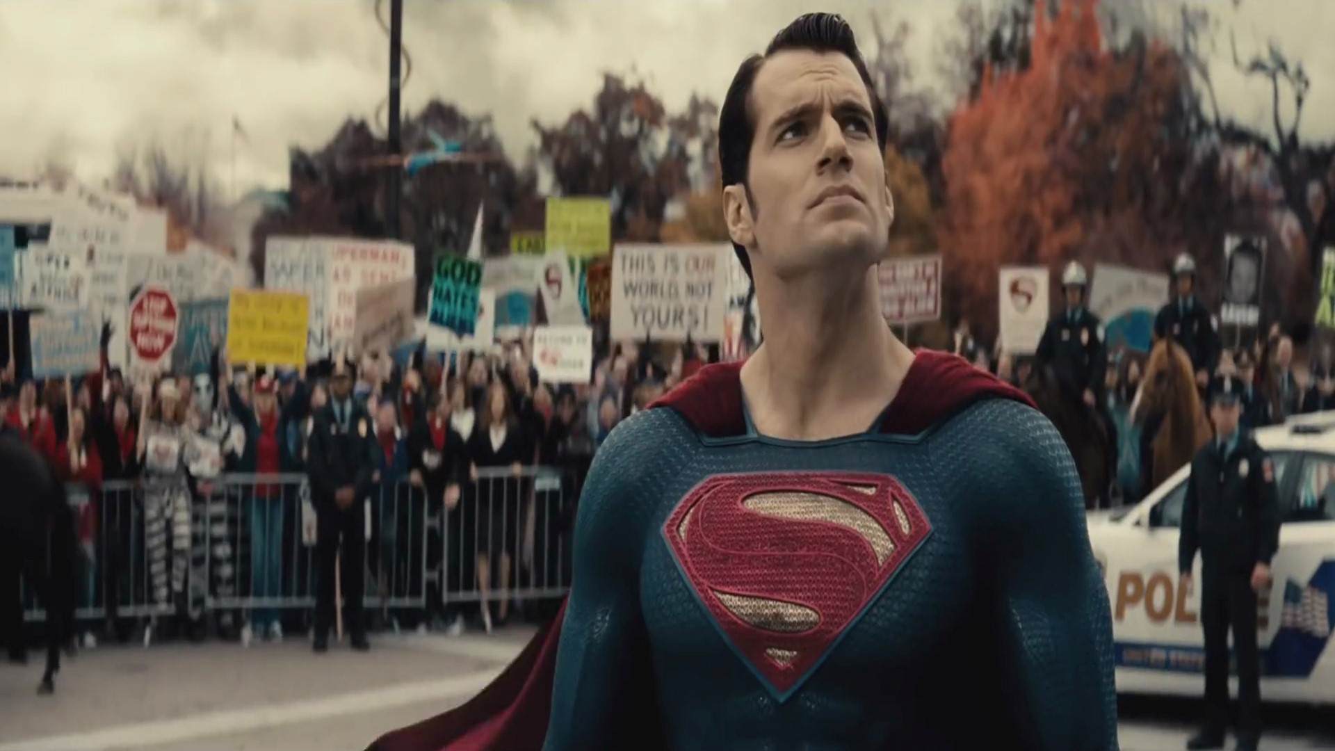Henry Cavill As Superman in Hollywood Movie HD Wallpapers HD 1920x1080